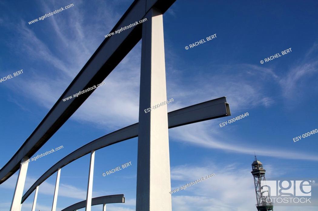 Stock Photo: Barcelona Port Vell, Catalonia, Spain.