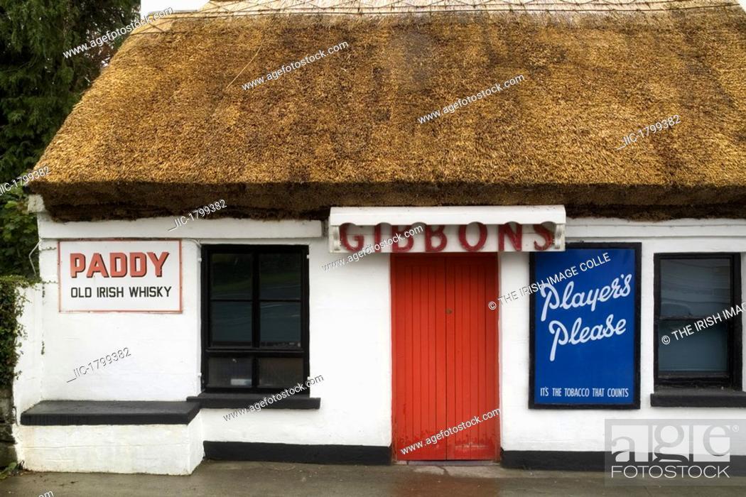 Stock Photo: Pub, Co Mayo.