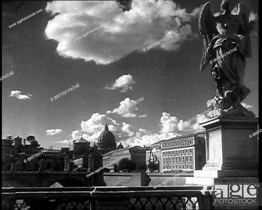 Photo de stock: Landmarks in Rome, Italy - Italy.
