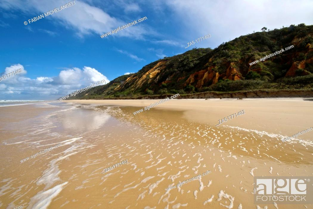 Imagen: Seventy Five Mile Beach  Fraser Island, Great Sandy National Park, Queensland, Australia.