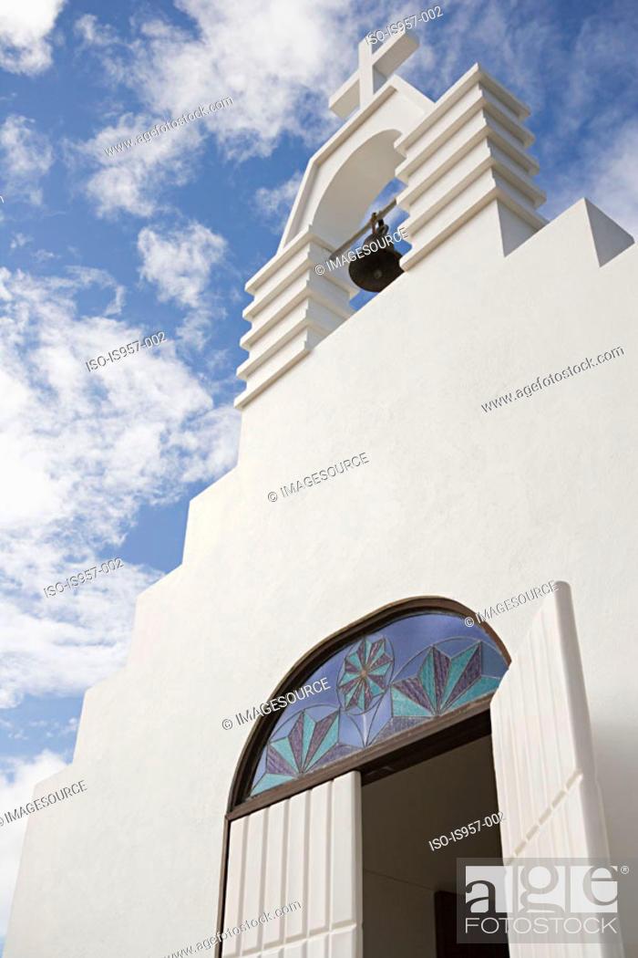 Stock Photo: Church facade.
