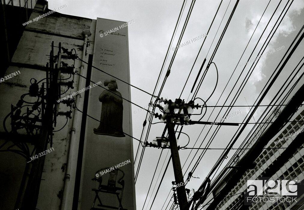Imagen: Urban Bangkok in Thailand in Southeast Asia Far East.