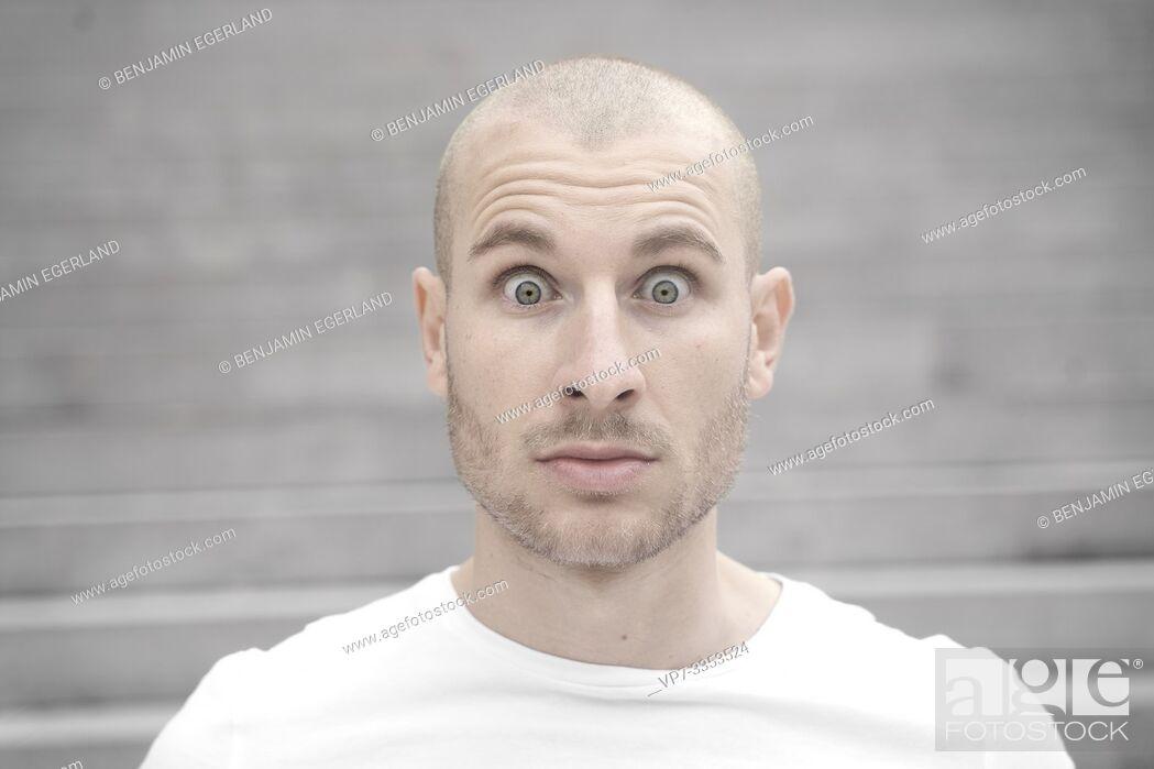 Stock Photo: surprised man.