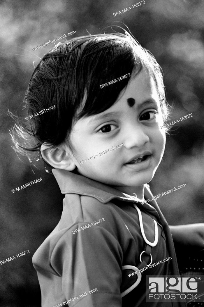 Two Years Old Boy Tamil Nadu India Mr777a Stock Photo Picture