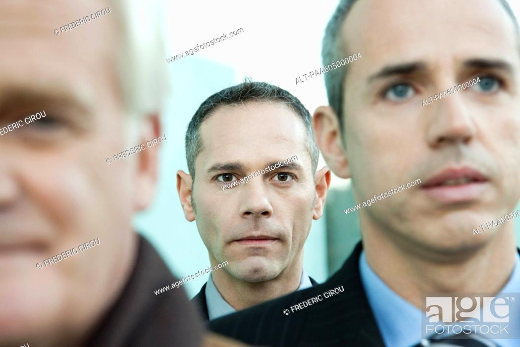 Stock Photo: Businessmen.