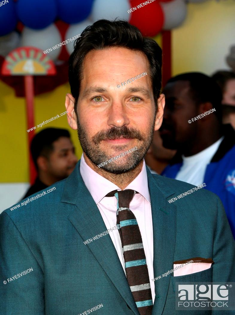 Stock Photo: Premiere of Sony's 'Sausage Party' at Regency Village Theatre - Arrivals Featuring: Paul Rudd Where: Westwood, California.