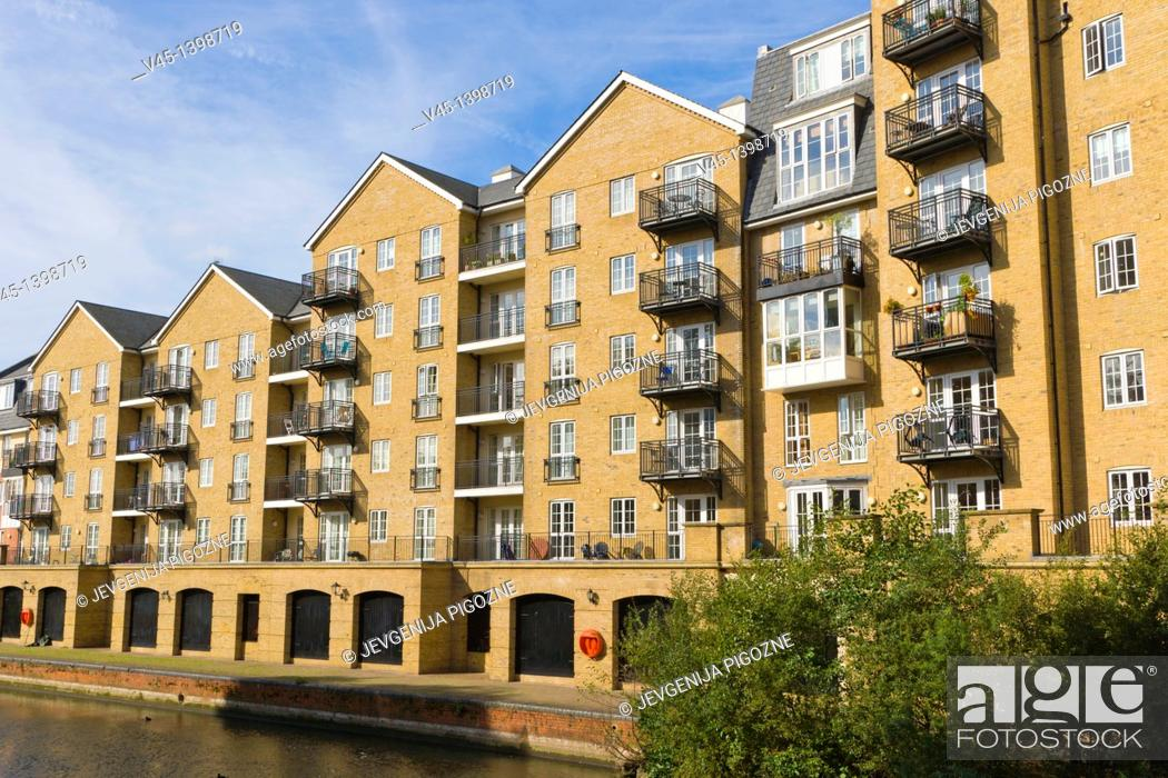 Riverside House Apartments from Bridge Street, from A327 ...