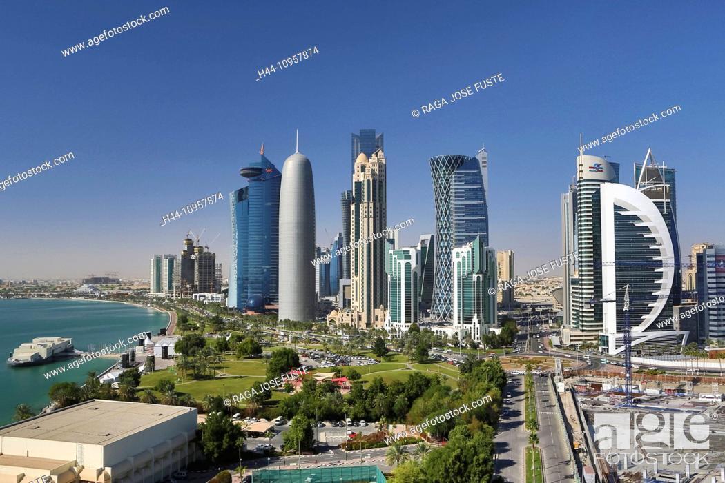 Burj Doha Qatar Middle East World Trade Center Architecture