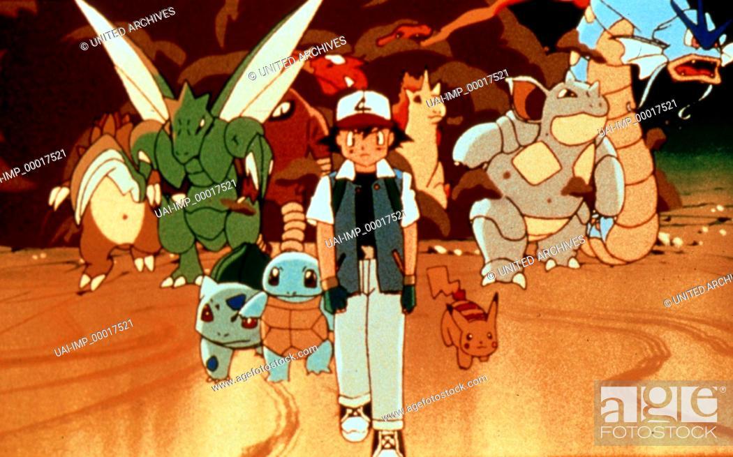 Pokemon Der Film Pokemon The First Movie Usa 1999 Regie Kunihiko Yuyama Stock Photo Picture And Rights Managed Image Pic Uai Imp 00017521 Agefotostock