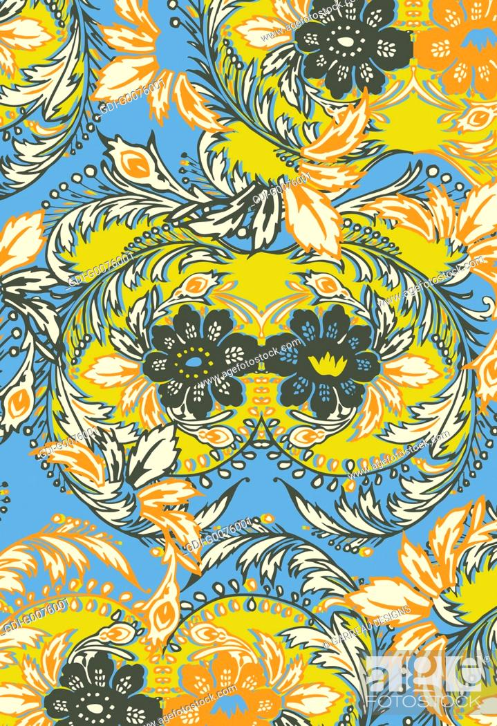 Imagen: Intricate floral design.