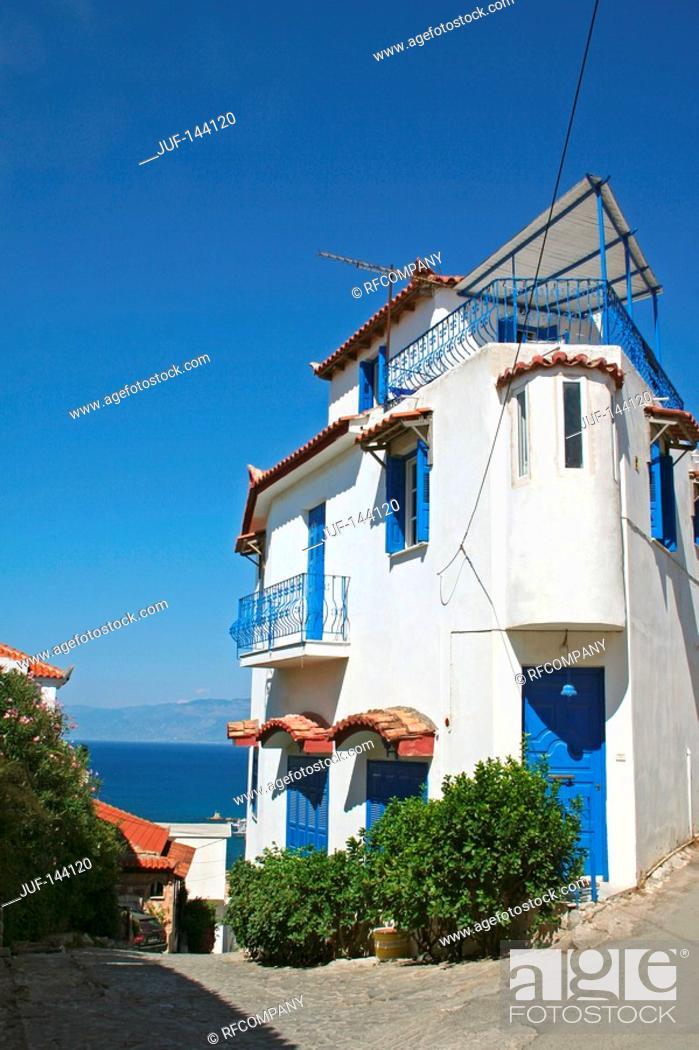 Stock Photo: Greece : house in Koroni.