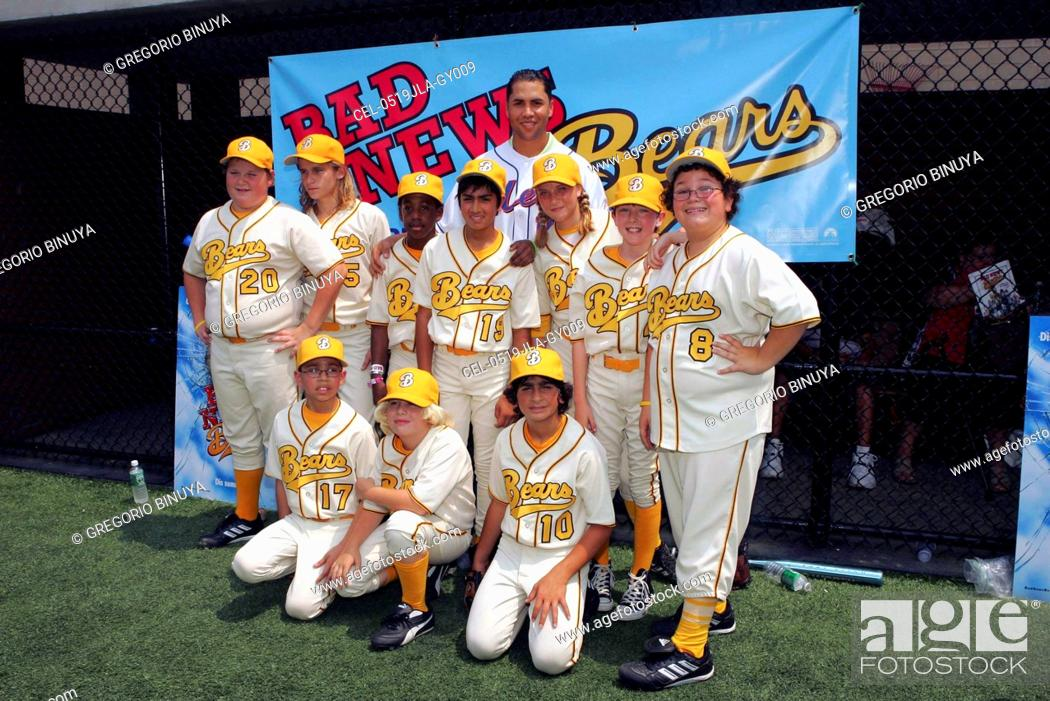 Carlos Beltran Cast Of The Bad News Bears On Location For