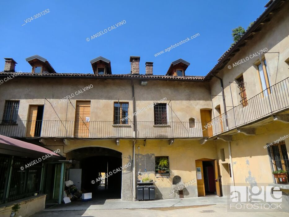 Stock Photo: CASCINA CUCCAGNA, Central District, Milano, Milan, Lombardy, Italy, Europe.