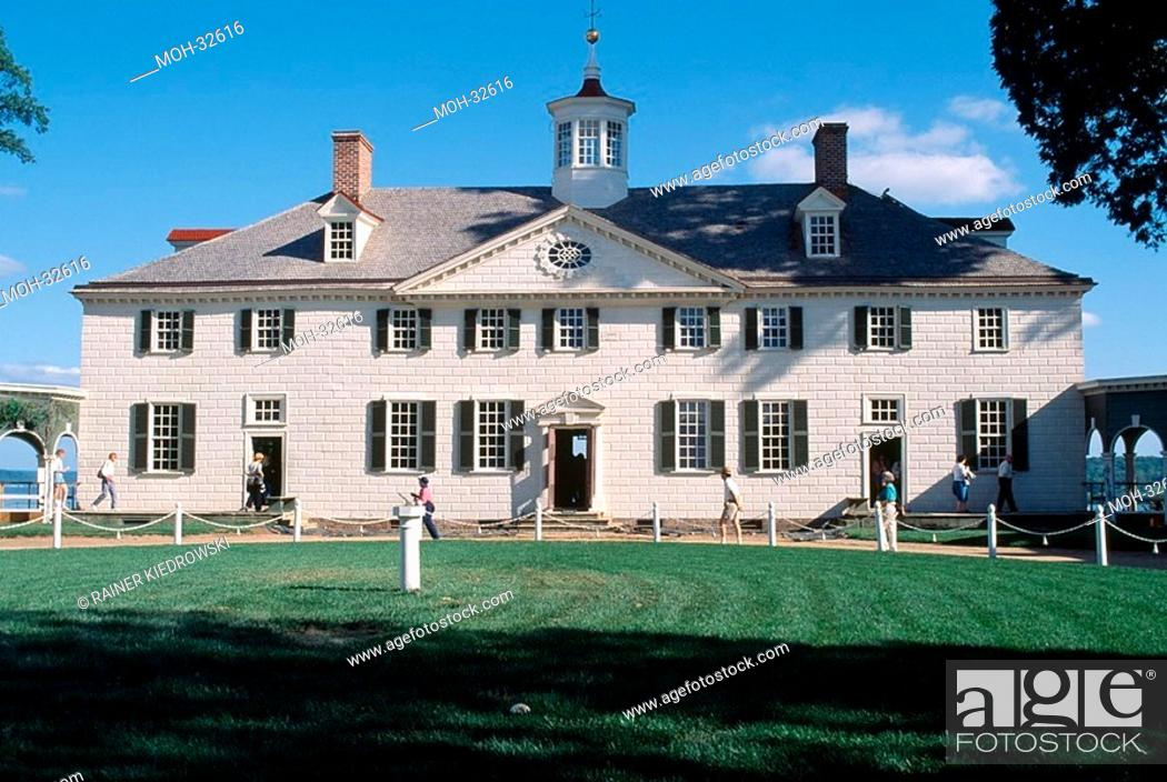 Imagen: Landsitz des 1  US Präsidenten George Washington.