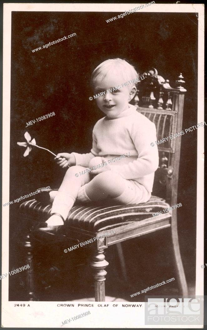 OLAF V King Of Norway 1957 91 Son Haakon VII And Maud Stock