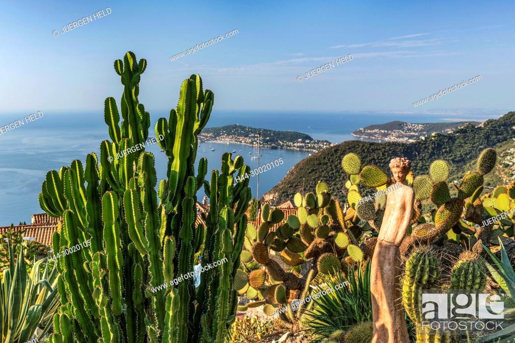 France, Provence, Côte d\'Azur, Eze, Jardin Exotique, Cacti, Eze ...