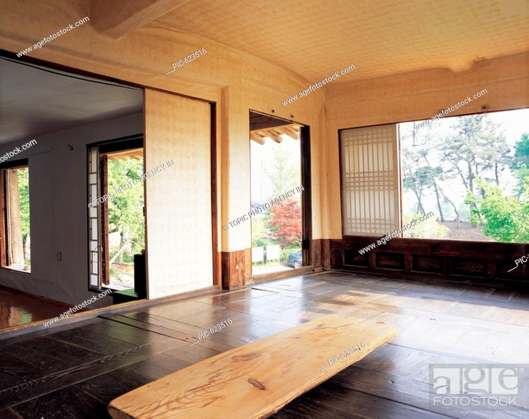 Korean Traditional House S Living Room Korea Stock Photo Picture And Rights Managed Image Pic Pic 623516 Agefotostock