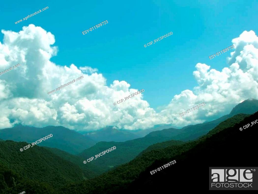 Stock Photo: Great Caucasus.