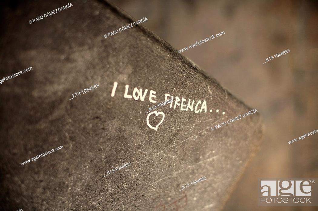 Stock Photo: I Love Firenca.