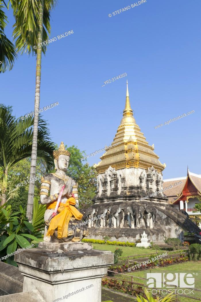 Imagen: Wat Chiang Man, Chiang Mai, Thailand.