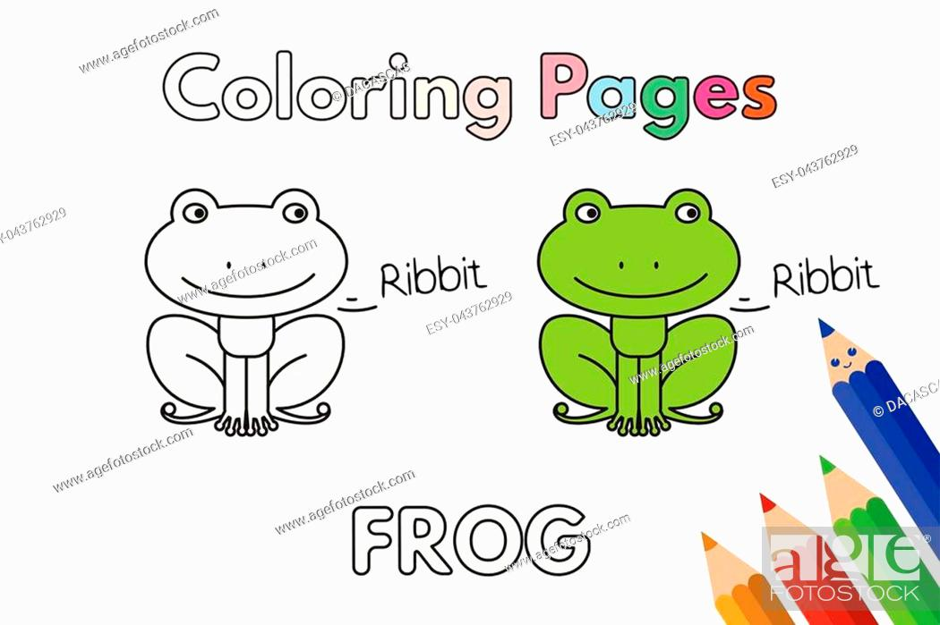 Frogs to print for free - Frogs Kids Coloring Pages | 698x1049