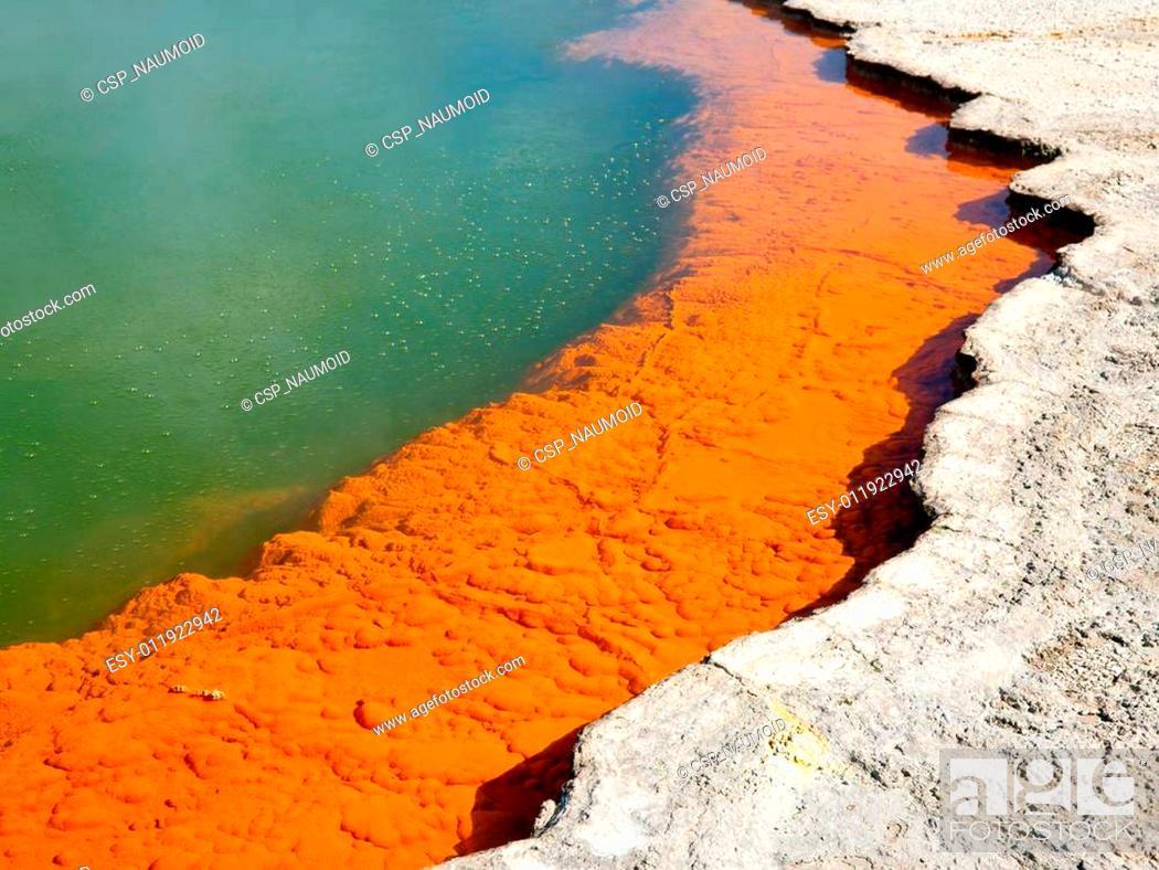 Stock Photo: Champagne Pool edge.