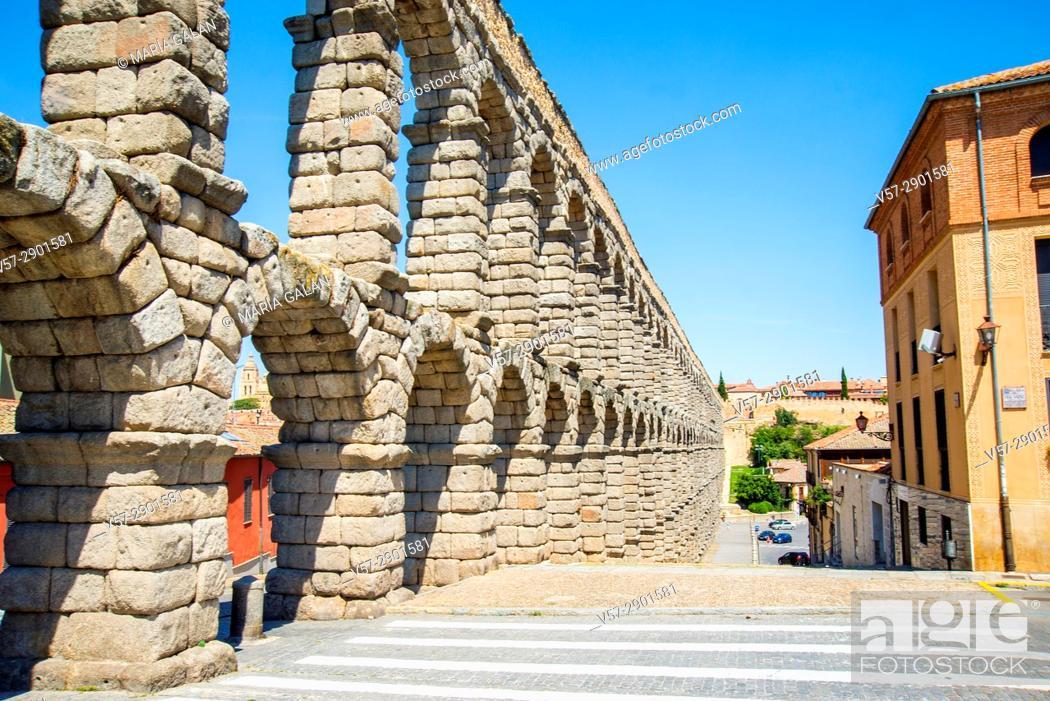 Imagen: Roman aqueduct. Segovia, Spain.