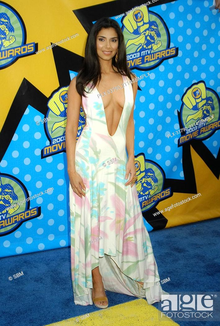 Stock Photo: Roselyn Sanchez at the 2003 MTV Movie Awards, held at The Shrine Auditorium in Los Angeles, CA. The event took place on Saturday, May 31, 2003.