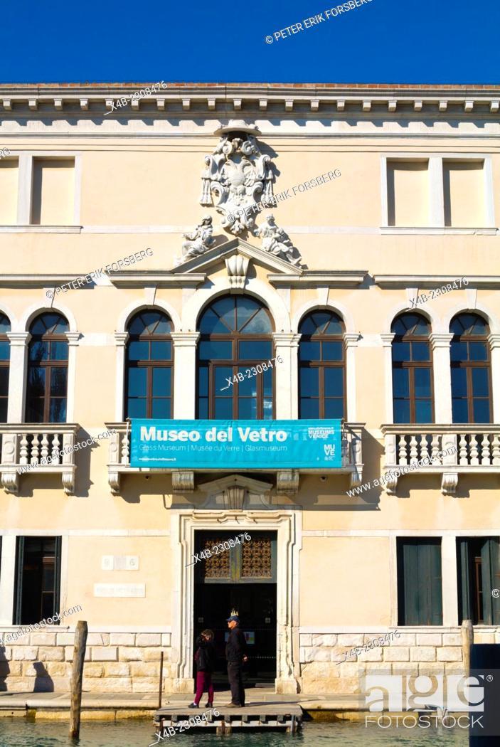 Museo Del Vetro Murano.Museo Del Vetro Glassmaking Museum Murano Island Venice