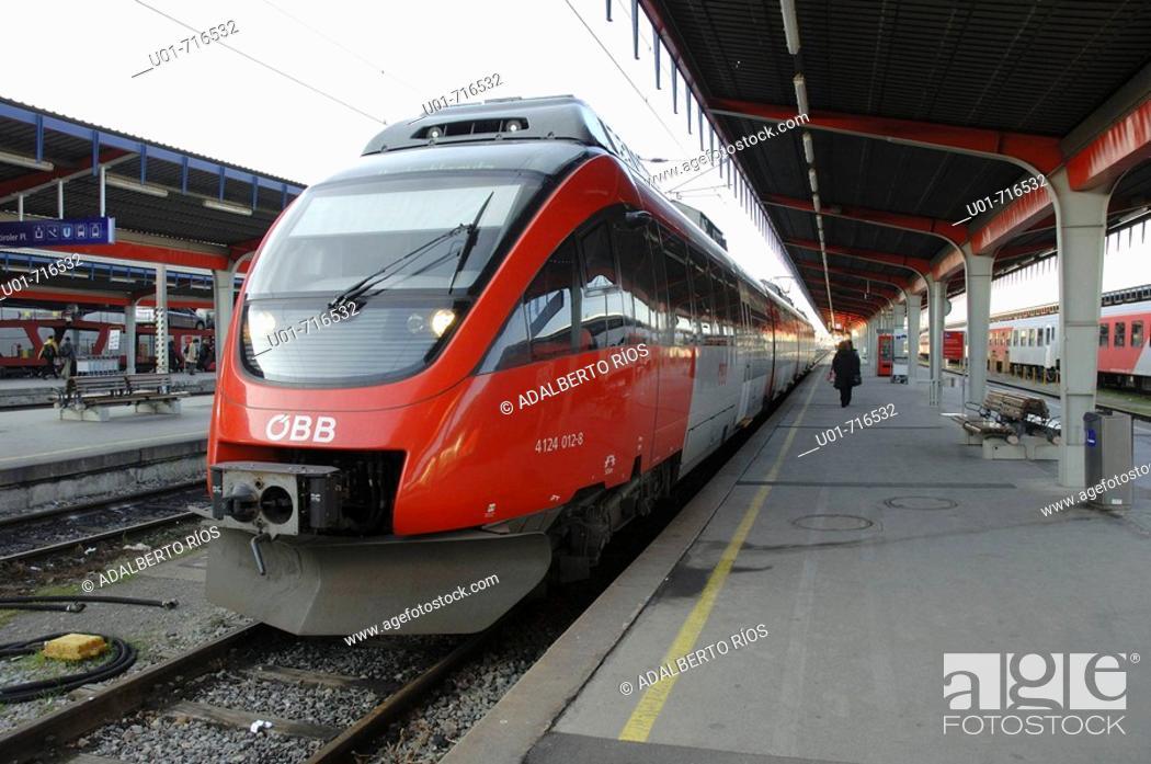 Stock Photo: Südbahnhof (South Station). Vienna. Austria.