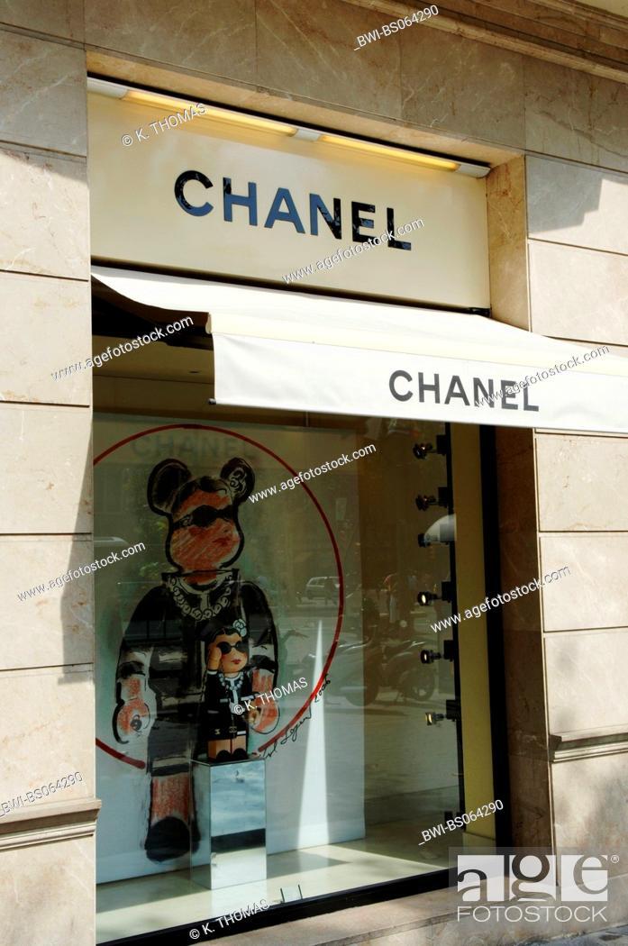 cb452f1e5 Barcelona, Chanel, Spain, Catalania, Barcelona, Stock Photo, Picture ...