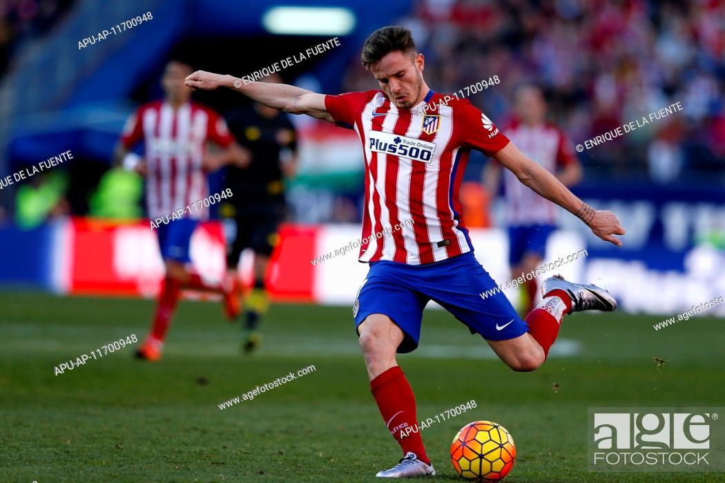 2016 La Liga Football Atletico Madrid V Sevilla Jan 24th 24 01 2016