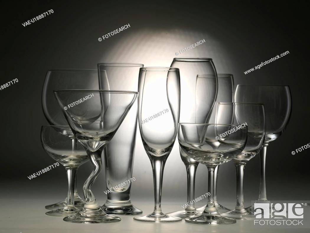 Stock Photo: house item, wine glass, artifact, object, champagne glass, glass.