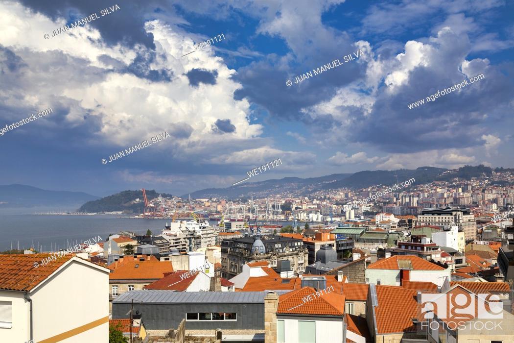 Stock Photo: Vigo. Pontevedra province. Galicia. Spain.