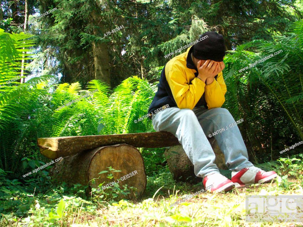 Stock Photo: Depression.