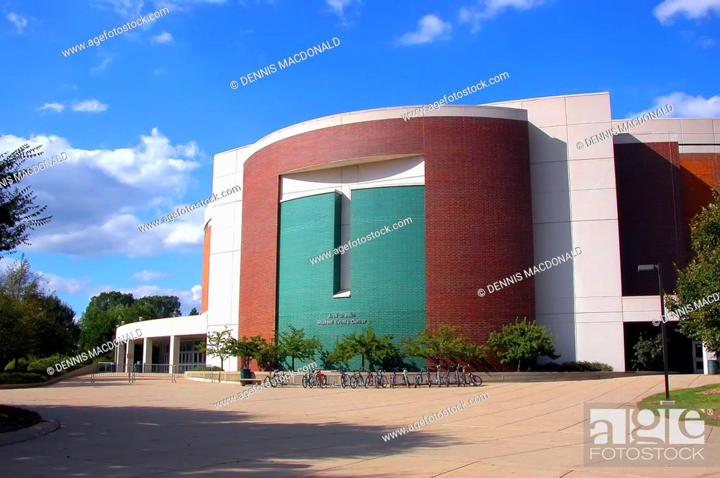 Stock Photo: jack Breslin student events center campus of Michigan State University at East Lansing Michigan.