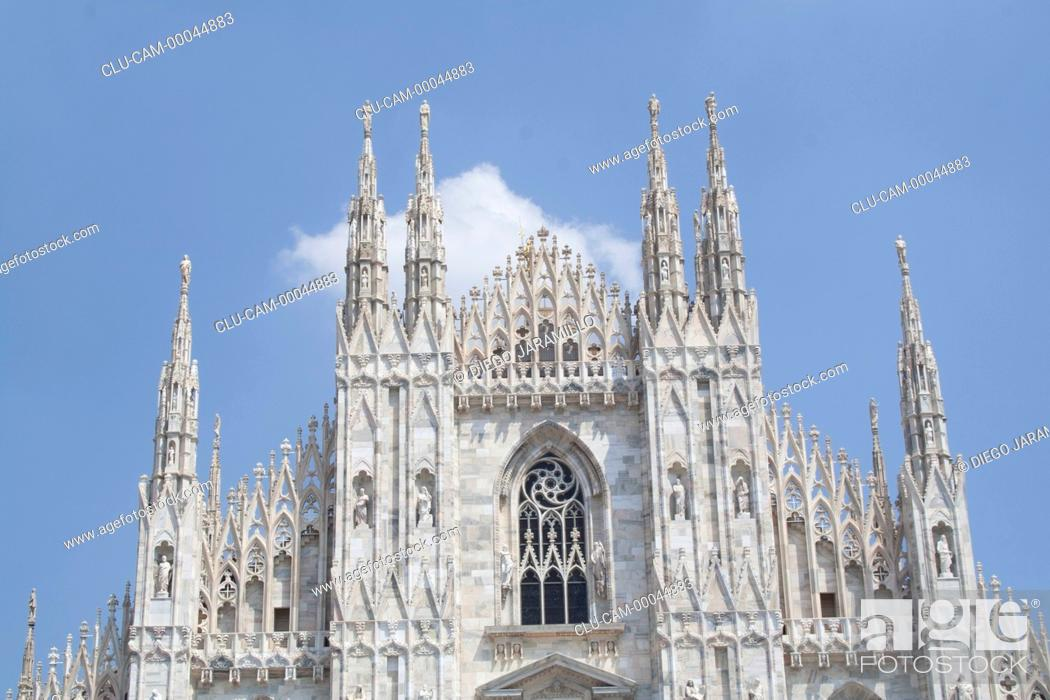 Photo de stock: Milan Cathedral, Milan, Lombardy, Italy, Western Europe.