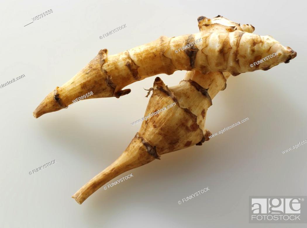 Stock Photo: Jerusalem artichokes.
