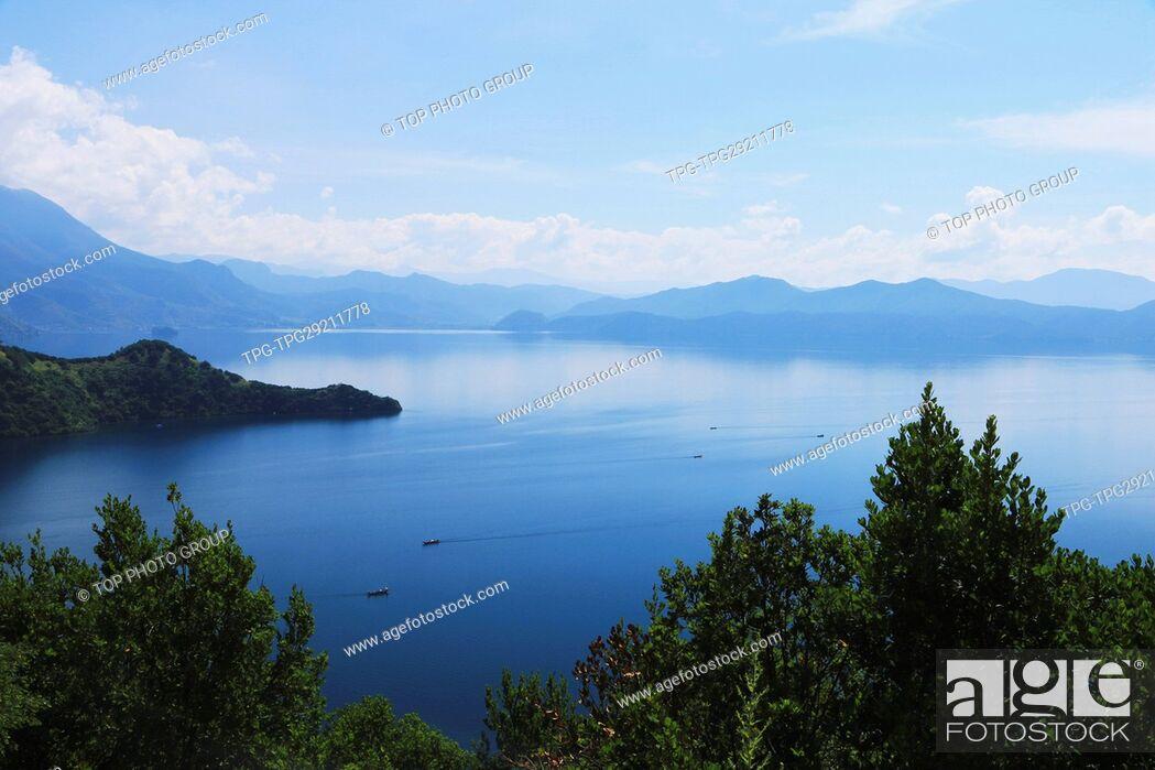 Stock Photo: Lugu Lake;China.