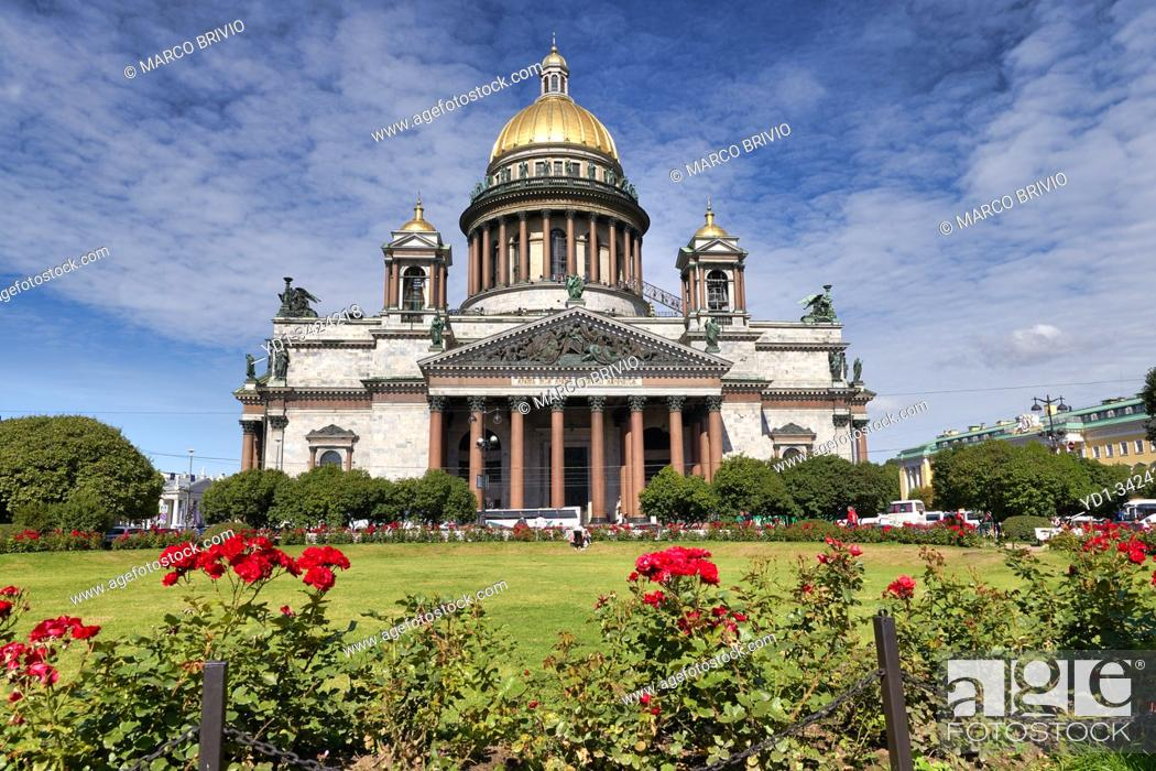 Imagen: St. Petersburg Russia. St. Isaac's Cathedral.