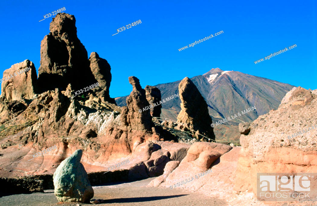 Stock Photo: Teide National Park. Tenerife, Canary Islands. Spain.