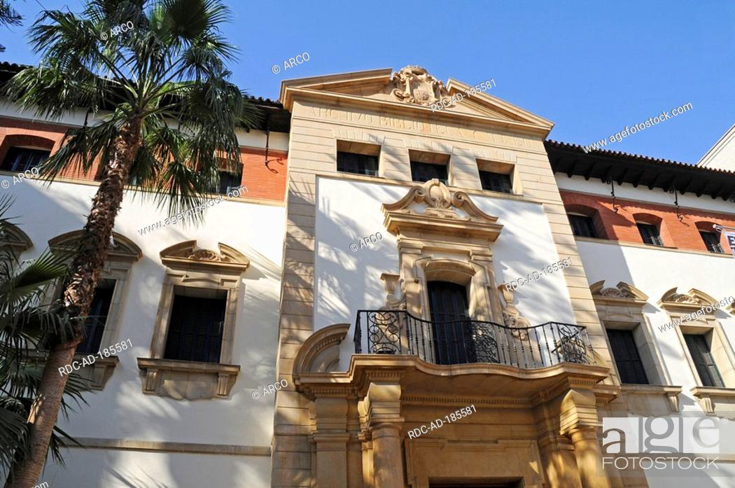 Stock Photo: Archaeological museum, Murcia, Spain.