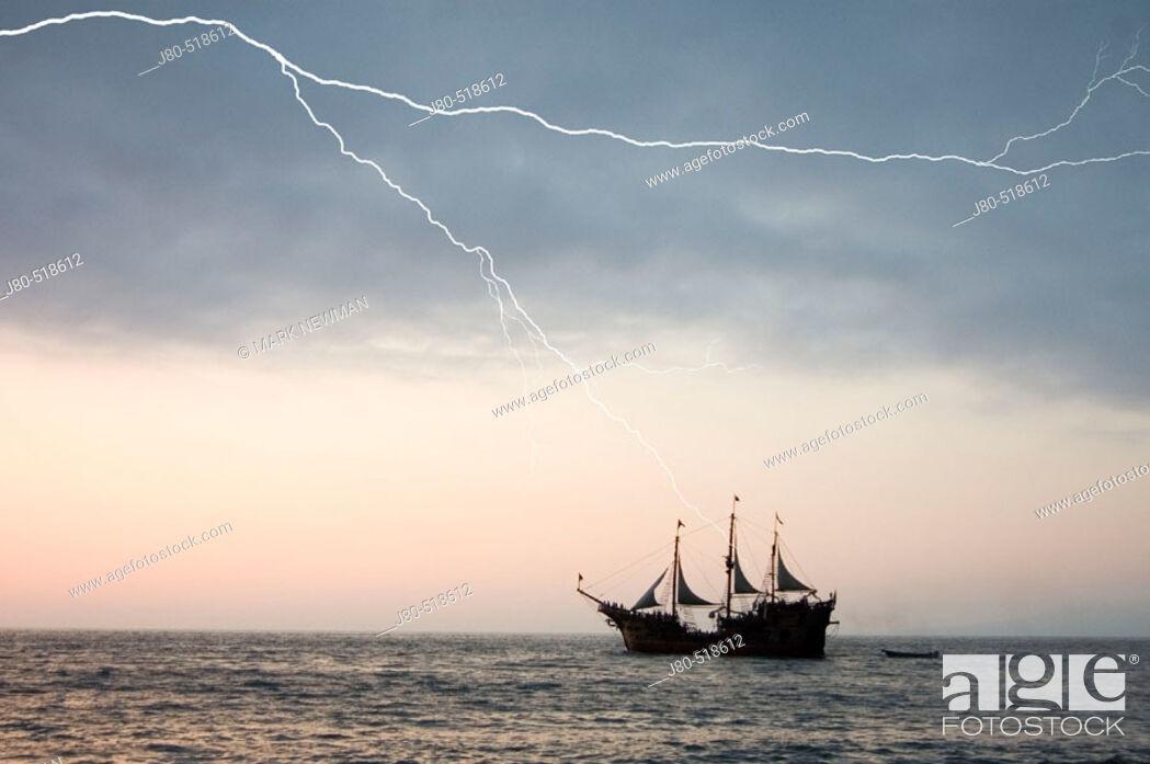 Stock Photo: Tourist ship. Puerto Vallarta. Mexico.