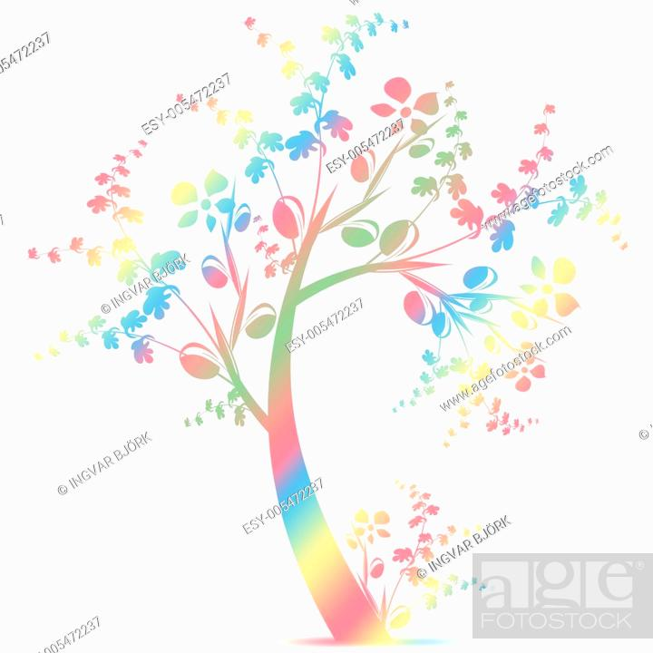 Stock Photo: Art Tree.