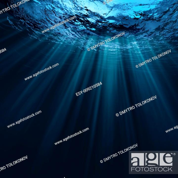Stock Photo: Deep water, abstract natural backgrounds.