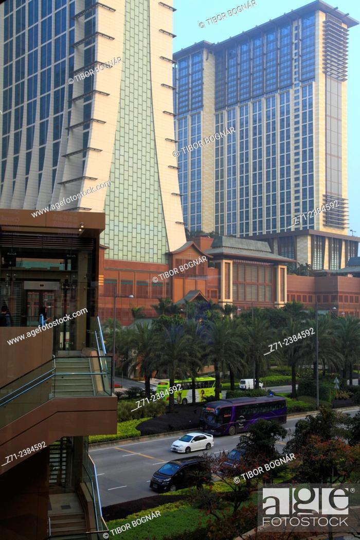 Imagen: China, Macau, Cotai Strip, hotels, casinos.