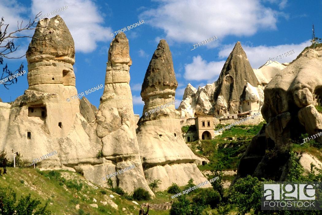 Stock Photo: Turkey, Cappadocia, Göreme, scenery,.