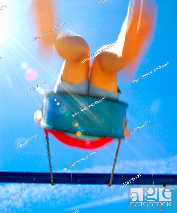 Stock Photo: swing time.