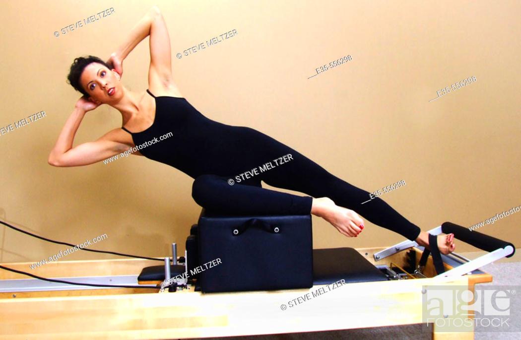 Stock Photo: Pilates.