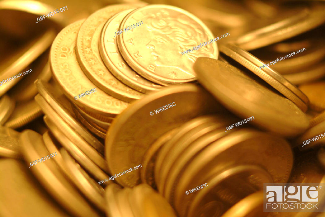Stock Photo: Businesses Concepts II, coins, money, Brazil.